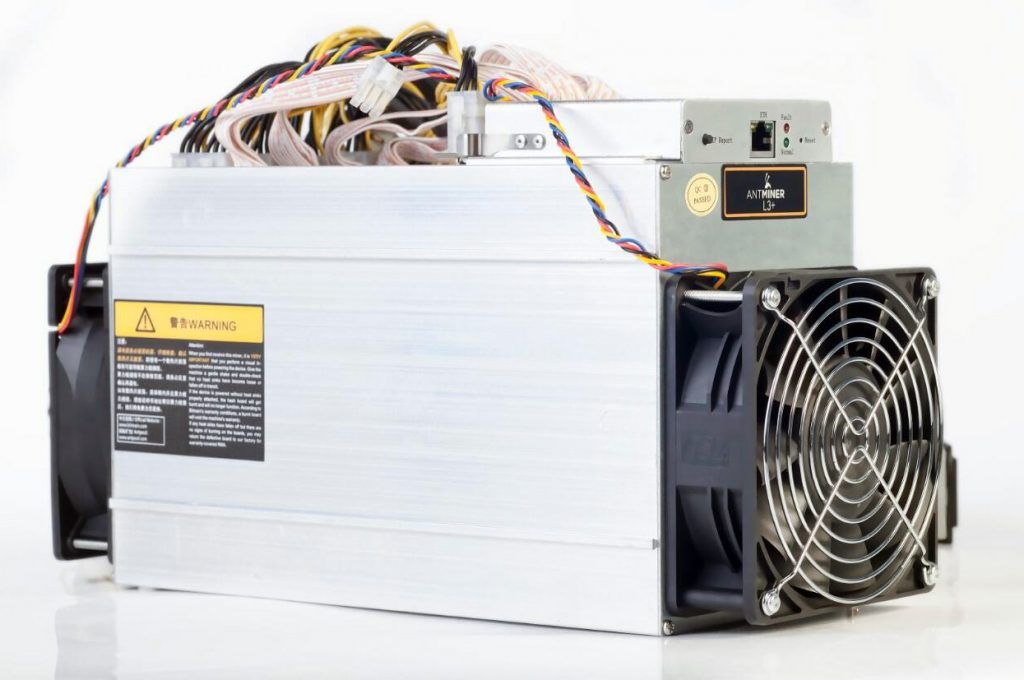 Bitmain AntMiner L3+ Scrypt